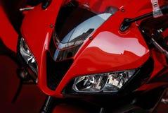 Rode fiets Stock Afbeeldingen