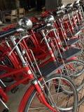 Rode fiets Stock Fotografie