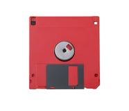 Rode floppy disk Stock Afbeeldingen