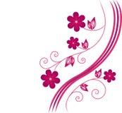 Rode flowerses. Royalty-vrije Stock Afbeeldingen