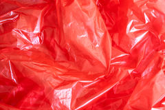 Rode Folieachtergrond Royalty-vrije Stock Foto