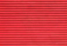 Rode garagedeur Royalty-vrije Stock Afbeelding