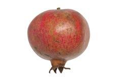 Rode geïsoleerde Granaatappel - Stock Afbeelding
