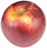 Rode geïsoleerdea appel royalty-vrije stock fotografie