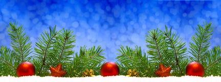 Rode geïsoleerdee Kerstmisdecoratie Royalty-vrije Stock Afbeelding