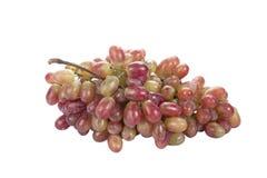 Rode geïsoleerdei druif Royalty-vrije Stock Foto