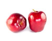 Rode geïsoleerdek appel Royalty-vrije Stock Fotografie