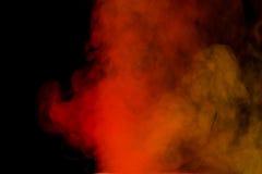 Rode gele waterdamp Royalty-vrije Stock Afbeelding