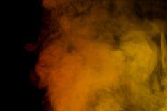 Rode gele waterdamp Royalty-vrije Stock Afbeeldingen