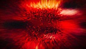 Rode Geologische het ontwerpachtergrond Fenomeen Lichte van de Achtergrond Mooie elegante Illustratie grafische kunst royalty-vrije stock fotografie