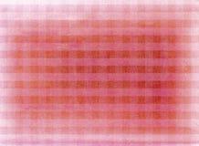 Rode geruite stoffenachtergrond Stock Foto