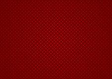 Rode Geruite Textuur stock illustratie