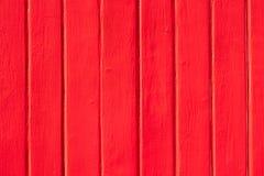 Rode geschilderde houten muurachtergrond royalty-vrije stock fotografie