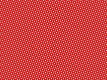Rode gestippelde achtergrond Stock Fotografie