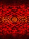 Rode gevormde achtergrond met het effect van de slanghuid stock illustratie
