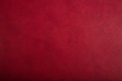 Rode Geweven Achtergrond Royalty-vrije Stock Foto