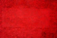 Rode Geweven Achtergrond Royalty-vrije Stock Afbeelding