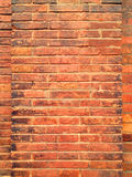 Rode geweven bakstenen muurachtergrond Stock Afbeeldingen