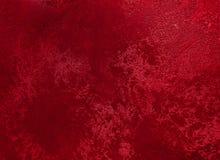 Rode geweven grungeachtergrond Royalty-vrije Stock Fotografie