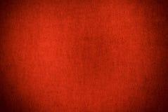 Rode geweven grungeachtergrond Royalty-vrije Stock Afbeeldingen