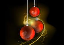 Rode gift Royalty-vrije Stock Afbeelding