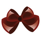 Rode giftboog Stock Afbeelding