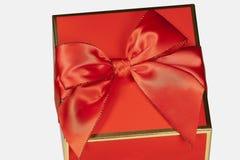 Rode Giftdoos Royalty-vrije Stock Fotografie