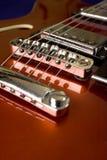 Rode gitaar stock foto