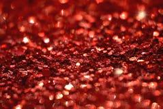 Rode glanzende achtergrond Royalty-vrije Stock Foto