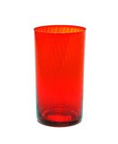 Rode glasbeker royalty-vrije stock afbeelding