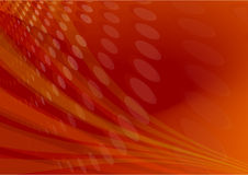 Rode gloed lichte samenvatting Stock Foto