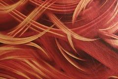 Rode gouden en zwarte achtergrond Royalty-vrije Stock Afbeeldingen