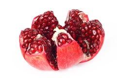 Rode granaatappel Royalty-vrije Stock Afbeeldingen