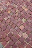 Rode granietbetonmolens Stock Foto's