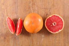 rode grapefruit royalty-vrije stock foto