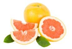 Rode grapefruit royalty-vrije stock afbeelding