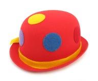 Rode grappige hoed royalty-vrije stock afbeelding
