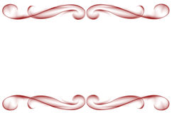 Rode grens Royalty-vrije Stock Afbeeldingen