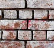 Rode grijze bakstenen muur voor textuur of achtergrond Royalty-vrije Stock Afbeelding