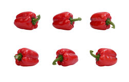 Rode groene paprika. Royalty-vrije Stock Fotografie