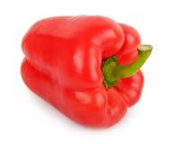 Rode groene paprika Stock Foto's
