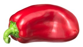 Rode groene paprika Grueso DE Plaza royalty-vrije stock fotografie