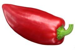 Rode groene paprika Grueso DE Plaza stock afbeeldingen