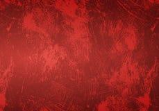 Rode grungeachtergrond Stock Foto