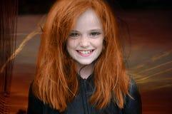 Rode haired heks royalty-vrije stock foto's