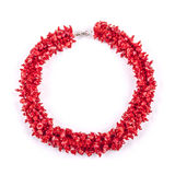 Rode halsband royalty-vrije stock afbeelding