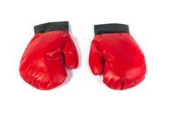 Rode Handschoenen Royalty-vrije Stock Foto