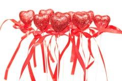 Rode harten Royalty-vrije Stock Foto