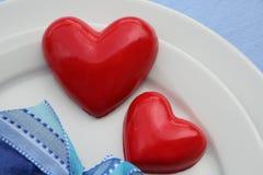 Rode harten Royalty-vrije Stock Fotografie