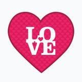 Rode harten Stock Foto's